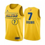 Maglia All Star 2021 Boston Celtics Jaylen Brown #7 Or