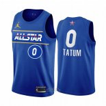 Maglia All Star 2021 Boston Celtics Jayson Tatum #0 Blu