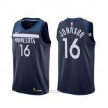 Maglia Minnesota Timberwolves James Johnson #16 Icon Nero
