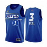 Maglia All Star 2021 Washington Wizards Bradley Beal #3 Blu
