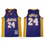 Maglia Los Angeles Lakers Kobe Bryant #24 2009 Finale Viola