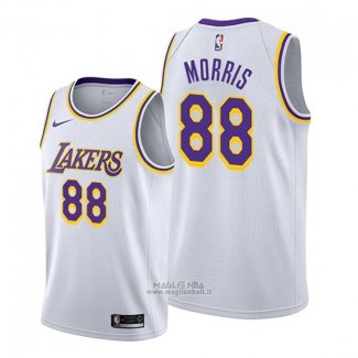 Maglia Los Angeles Lakers Markieff Morris #88 Association 2019-20 Bianco