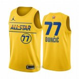 Maglia All Star 2021 Dallas Mavericks Luka Doncic #77 Or