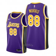 Maglia Los Angeles Lakers Markieff Morris #88 Statement 2019-20 Viola