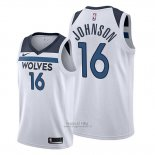 Maglia Minnesota Timberwolves James Johnson #16 Association 2019-20 Bianco