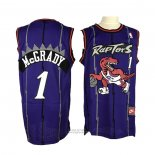 Maglia Toronto Raptors Tracy McGrady #1 Throwback Viola