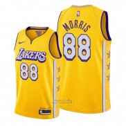 Maglia Los Angeles Lakers Markieff Morris #88 Citta 2019-20 Or