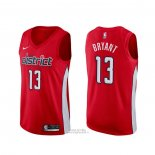 Maglia Washington Wizards Thomas Bryant #13 Earned Rosso