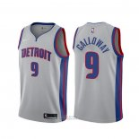 Maglia Detroit Pistons Langston Galloway #9 Statement Grigio
