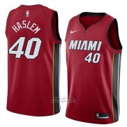 Maglia Miami Heat Udonis Haslem #40 Statement 2018 Rosso