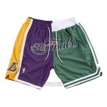Pantaloncini Lakers Vs Celtics Just Don 2008 NBA Finale