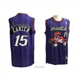 Maglia Toronto Raptors Vince Carter #15 Throwback Viola