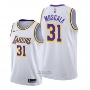 Maglia Los Angeles Lakers Mike Muscala #31 Association Bianco
