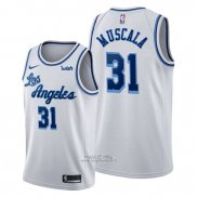 Maglia Los Angeles Lakers Mike Muscala #31 Classic Edition 2019-20 Bianco