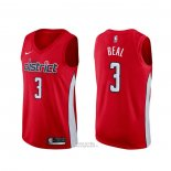 Maglia Washington Wizards Bradley Beal #3 Earned Rosso