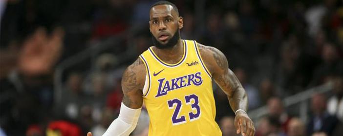 Magliette NBA Los Angeles Lakers